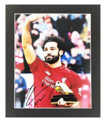 Mo Salah Signed Memorabilia