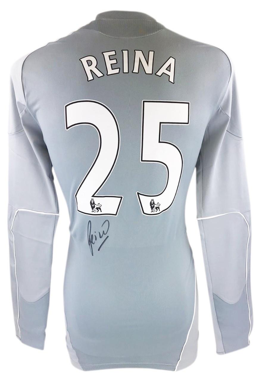Autographed Pepe Reina Shirt Liverpool Goalkeeper Jersey Firma Stella