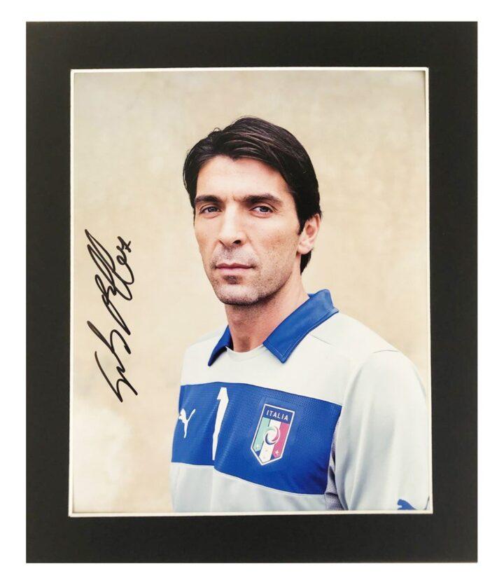 Gianluigi Buffon Signed