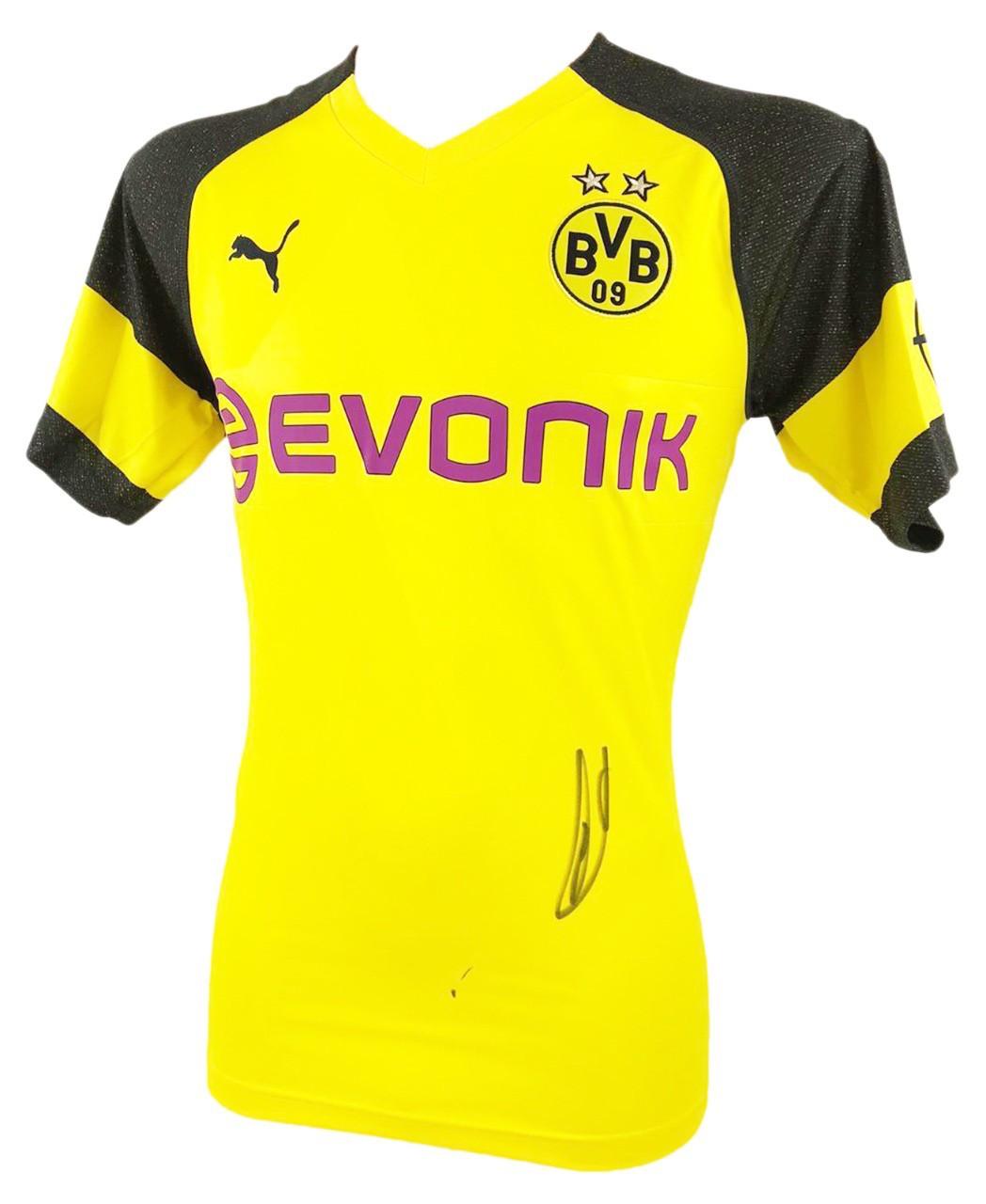 Marco Reus Autograph Signed Borussia Dortmund Jersey Shirt Firma Stella