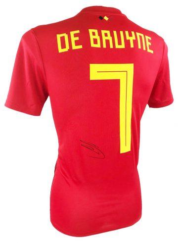 Signed Kevin De Bruyne Shirt