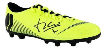 Signed Luis Figo Football Boot