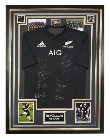 Signed All Blacks Jersey