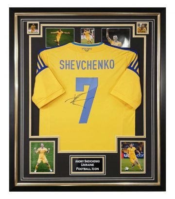 Signed Andriy Shevchenko Jersey