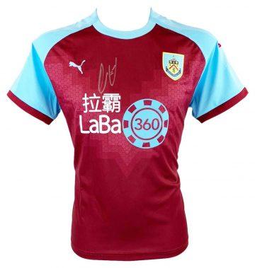 Signed Burnley Memorabilia