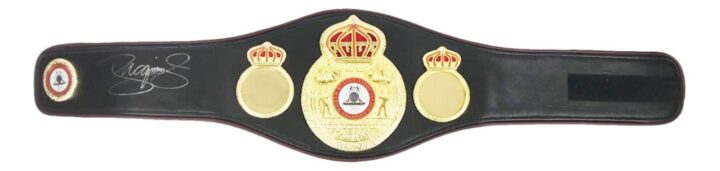Signed Manny Pacquiao Belt