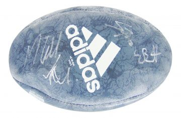 Signed All Blacks Rugby Ball