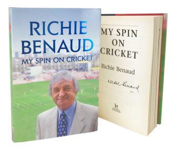 Signed Richie Benaud Book