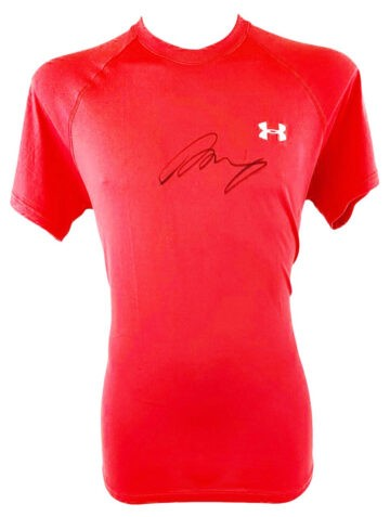 Autographed Andy Murray Shirt