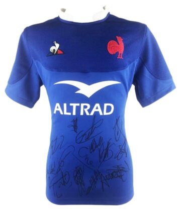 Signed France Rugby Shirt