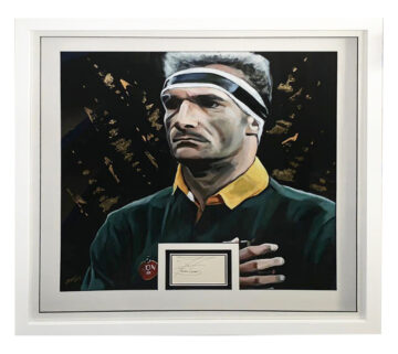 Signed Francois Pienaar Display