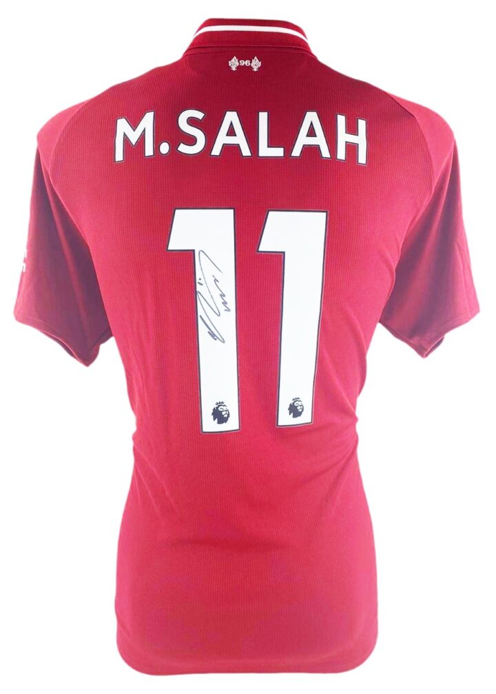 Signed Mo Salah Shirt