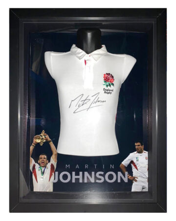 Autographed Martin Johnson Shirt