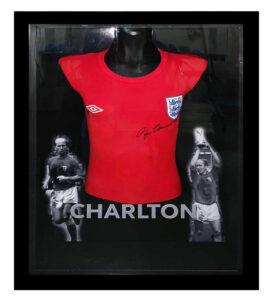 Signed Bobby Charlton Shirt