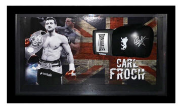 Signed Carl Froch Boxing Glove