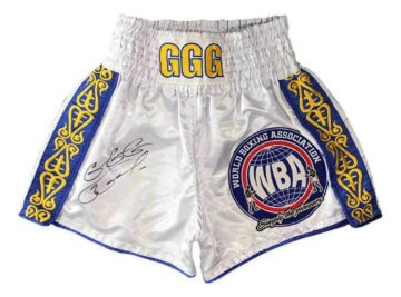 Signed Gennady Golovkin Shorts