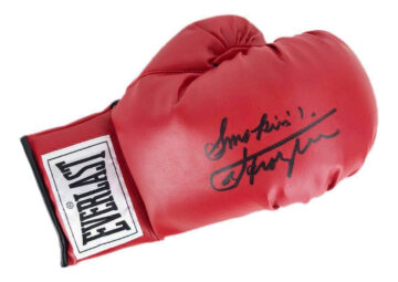 Signed Joe Frazier Boxing Glove