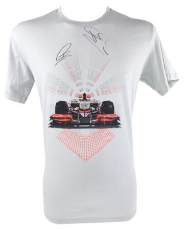 Signed Lewis Hamilton & Jenson Button Shirt