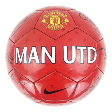 Signed Manchester United Football