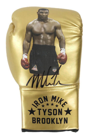 Signed Mike Tyson Boxing Glove