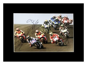 Signed Moto Gp 2019 Icons Photo