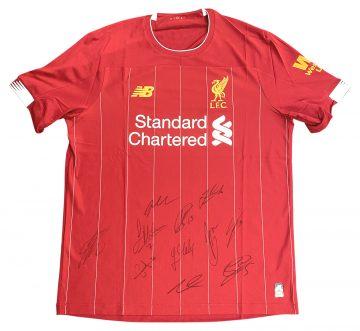Signed Liverpool FC Premier League Champions 2020