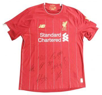 Signed Liverpool Shirt Premier League Champions 19/20