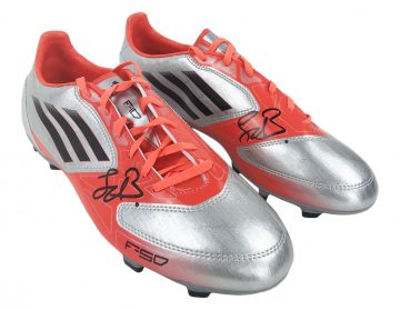 Signed Frank De Boer Football Boots