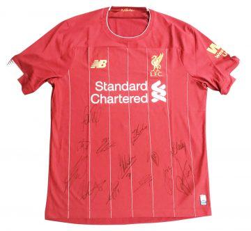 Signed Liverpool Shirt