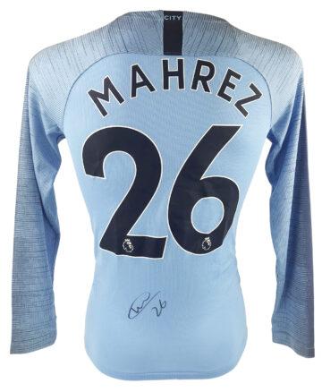 Signed Riyad Mahrez Shirt