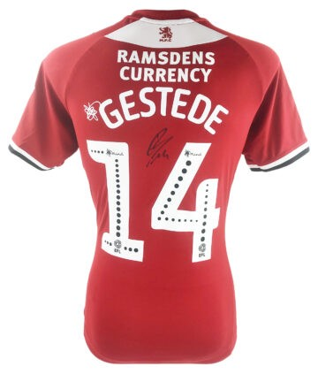 Signed Rudy Gestede Shirt