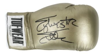 Autographed Sylvester Stallone Boxing Glove