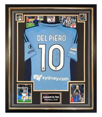 Signed Alessandro Del Piero Jersey