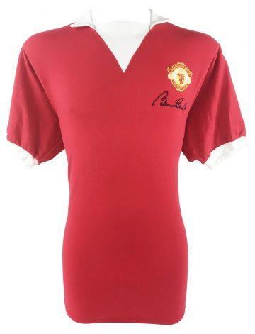 signed Bobby Charlton jersey