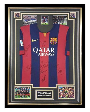 Signed FC Barcelona Jersey