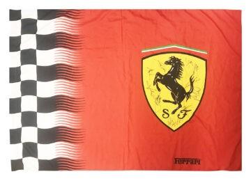 Signed Ferrari Flag