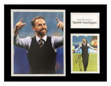 Signed Gareth Southgate Photo