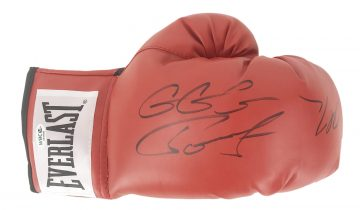 Signed Gennady Golovkin & Daniel Jacobs Boxing Glove
