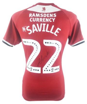 Signed George Saville Jersey