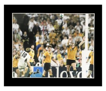 Signed Jonny Wilkinson Photo