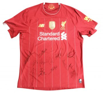 Signed Liverpool FC Jersey