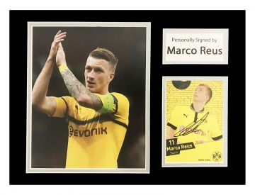 Signed Marco Reus Photo