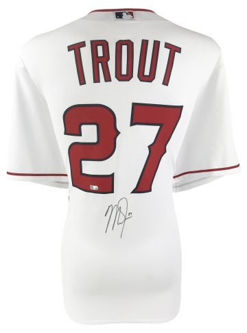 Mike Trout Signed Memorabilia