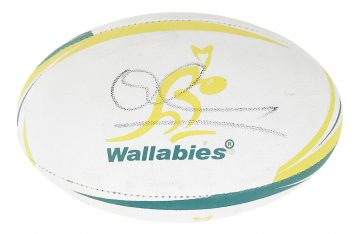 Signed Quade Cooper Ball