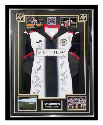 Signed St Mirren Jersey