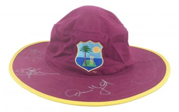 West Indies Signed Hat