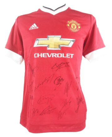 Autographed Manchester United Shirt