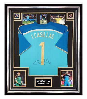 Signed Iker Casillas GK Jersey