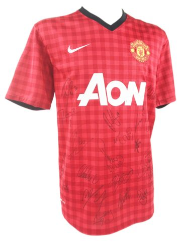 Signed Manchester United Jersey