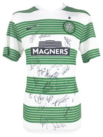 Signed Celtic Football Shirt